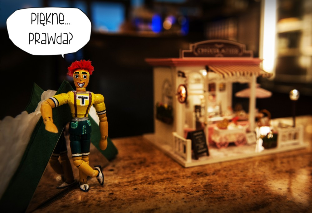 domki dla lalek kreatywne zabawki
